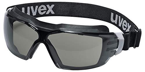 Uvex Pheos cx2 Sonic Supravision Extreme - Gafas de protección, color gris, blanco y negro