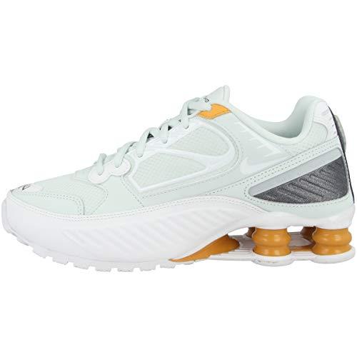 Nike Femmes Shox Enigma Running Trainers BQ9001 Sneakers Chaussures (UK 3 US 5.5 EU 36, Ghost Aqua White 400)