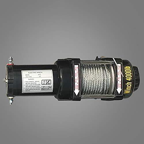 ANJING 12V/24V De múltiples Fines Cabrestante eléctrico,Polipasto eléctrico 2000lb/3000lb/3500lb/4000lb/4500lb,4000lb,12V