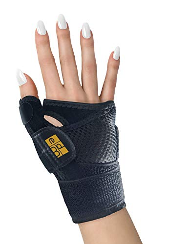 Stecca Pollice di Everyday Medical I Ideale per Dolore al Pollice, Tendinite e Rizoartrosi I Tutore per Pollice per Uomo e Donna I Sollievo dalla Sindrome del Tunnel Carpale I Thumb Immobilizer Splint