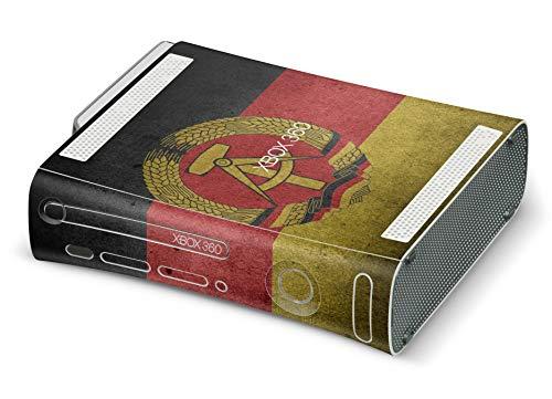 Skins4u Design modding Aufkleber Vinyl Skin Klebe Folie Skins Schutzfolie für Xbox 360 Ddr