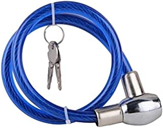EASY4BUY® Blue Heavy Duty Multi Purpose Goti/Key Chain Helmet Lock