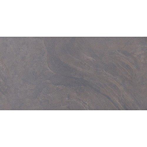 Devenport - Piastrelle 60 x 30 cm, colore: Nero