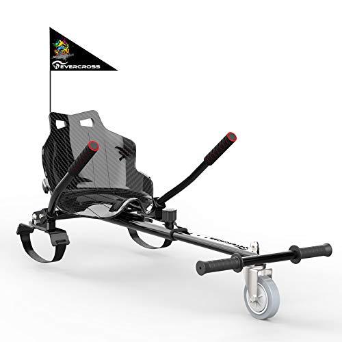 EVERCROSS Hoverkart Accesorio para Asiento de Kart para Hoverboard, Gokart Longitud Ajustable Compatible con 6.5, 8 y 10 Pulgadas Self Balancing Scooter