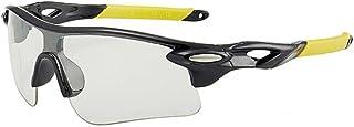 MANW Lunettes de soleil pour hommes lunettes de cyclisme cyclisme sports lunettes de plein air lunettes de soleil-J