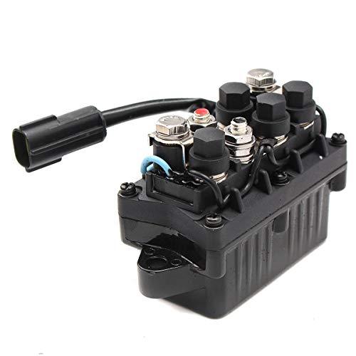Motorrad-Komponenten Motor Power Trim & Relais 2 Pin gepasst for Outboard 4-Takt Motor 40-90HP, Top-Qualität