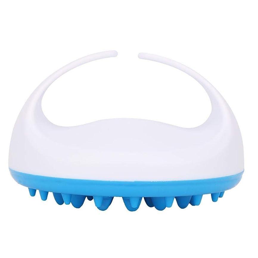 トイレロマンスコートシリコンボディバスマッサージブラシ、リラックスのためのエッセンシャルオイルマッサージを剥離、男性女性子供のためのシャワーツール(# 2)