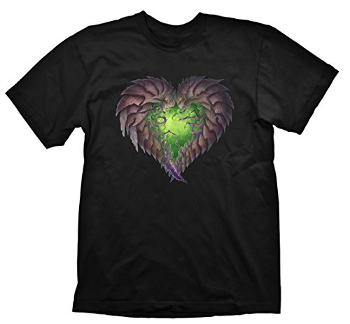 Starcraft 2 T-Shirt Zerg Heart, M