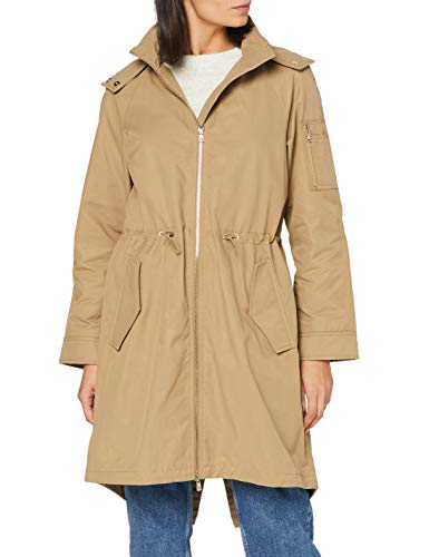 Armani Exchange Womens Caban Coat Trenchcoat, Bollywood, L