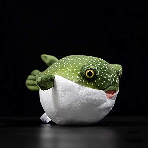 Gefüllte Spielzeug Real Life Kugelfisch Plüschtiere Naturgetreue Meerestiere Kugelfische Plüschtiere Aquarium-Fisch-Puppen Plüschtiere Geschenke for Kinder XIUYU