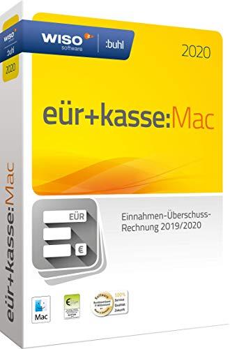 WISO eür+kasse:Mac 2020: Für die Einnahmen-Überschuss-Rechnung 2019/2020 inkl. Gewerbe- und Umsatzsteuererklärung | Mac