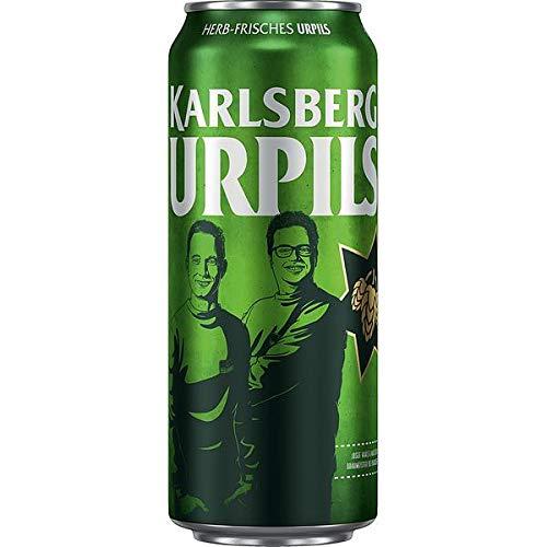2 x Karlsberg Urpils 24x0,5L Dosen 4,8% Vol_ EINWEG