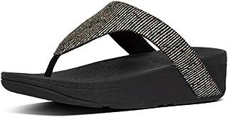 FITFLOP Lottie Glitter Strip Toe Thong Women's Sandals