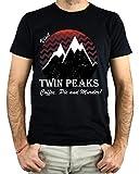 PLANETACAMISETA Camiseta Hombre - Unisex Twin Peaks