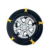 Para BMW X5 F15 2013-2018 10 unids/set neumático de coche antideslizante cadenas de nieve cinturón de la rueda de tendón de carne cadena de neumáticos de conducción de nieve