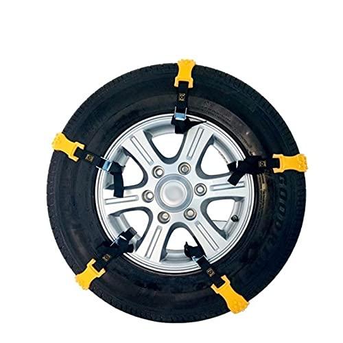 para Nissan Qashqai De 5 Plazas Antes De 2015. 10 Unids/Set Cadenas De Nieve Antideslizantes para Neumáticos De Coche Cinturón Cadena De Neumáticos De Rueda De Tendón De Carne Bienes de Invierno