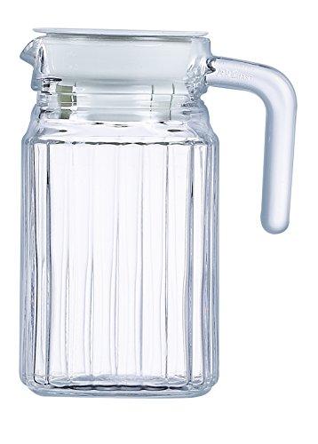 ARC International Luminarc Quadro Krug mit weißem Deckel, 4,5 ml