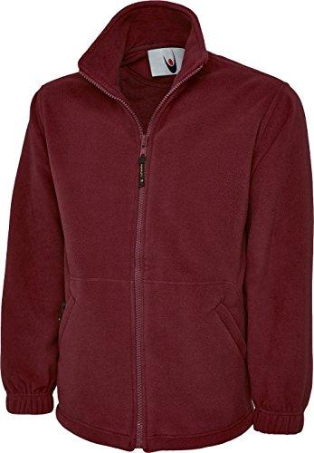 Shoppersbay Uneek Uc604 Classic Full Zip Micro Fleece Jacket Maroon L
