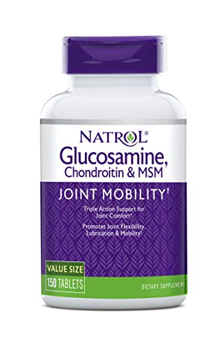 Natrol Glucosamine Chondroitin MSM - 150 Compresse