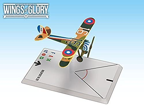 promocionales de incentivo Wings of Glory Airplane Pack - Nieuport Ni.28 (Hartney) - - - Figure by Ares Games  disfrutando de sus compras