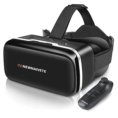 VR Headset Compatible with iPhone & Android Phone, VR Headsets with...
