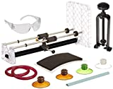 Creator's Ultimate Glass Bottle Cutter Bundle - Super Suite W/Black Bottle Neck Cutter - Includes 4 Glastoppers - Abrasive Stone and More - DIY Project Wine/Beer/Liquor Bottle Cutting System - Made in The USA