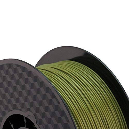 Auartmetion 1pc 3d Printer PLA Filament Diameter 1.75mm Polylactic Acid 1kg Fit For Filamento 3d Pen Printing Z18 Tray Rack Abdos (Color : Military Green)