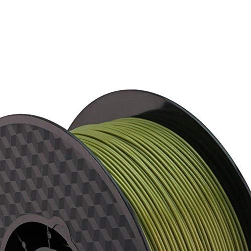 Wang shufang 1pc 3d Printer PLA Filament Diameter 1.75mm Polylactic Acid 1kg Fit For Filamento 3d Pen Printing Z18 Tray Rack Abdos (Color : Military Green)