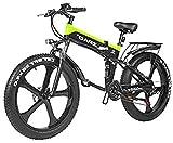 Bicicletas Eléctricas, Adultos Bicicleta 48V 1000W eléctrico bicicleta eléctrica de montaña de 26 pulgadas Fat Tire Bike E-21 Velocidades de Transmisión Frenos crucero de la playa for hombre de los de
