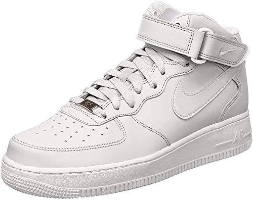 Nike Air Force 1 Mid 07 Scarpe da basket da uomo, Bianco (bianco), 45.5 EU