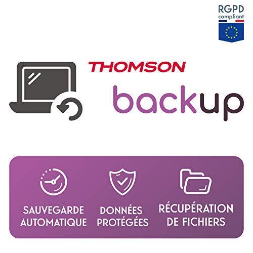 Thomson Backup - Solution de sauvegarde et de back-up Cloud pour ordinateur tablette et téléphone