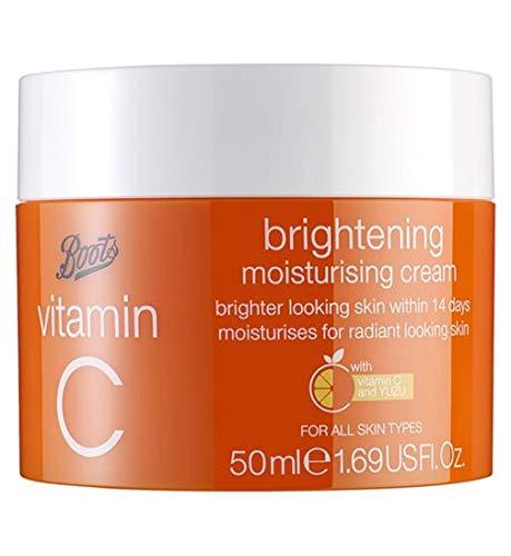 Boots Vitamin C Brightening Moisturising Cream 50ml