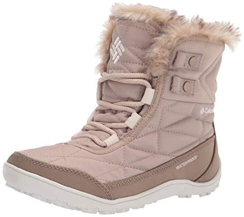 Columbia Women's Minx Shorty III Snow Boot, Oxford Tan/Fawn, 7.5