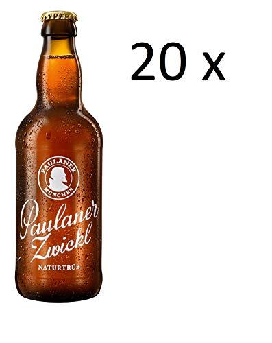 20 Flaschen a 0,4l Paulaner Zwickl gut gehopft inc.1.60€ MEHRWEG Pfand