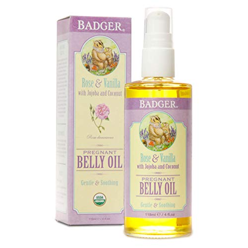 Badger Organic Pregnant Belly Butter - Cocoa Butter & Calendula - 2 oz.