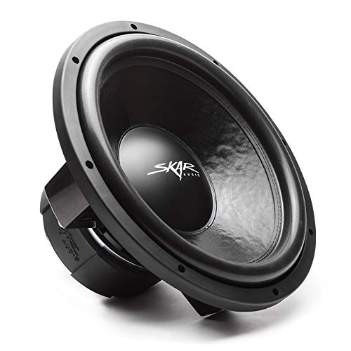 Skar Audio DDX-15 D4 15' 1500 Watt Max Power Dual 4 Ohm Car Subwoofer