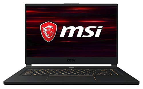 "MSI GS65 Stealth 8SE-038ES - Ordenador portátil Gaming Ultrafino 15.6"" FullHD 144Hz(Coffeelake i7-8750H, 16GB RAM, 512GB SSD, Nvidia RTX 2060 6GB, Windows 10 Advanced) Teclado QWERTY Español"