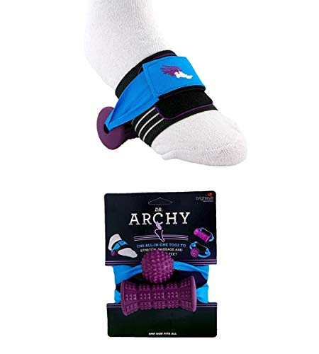 Big Save! Foot Roller Massager for Tired Feet and Heel Pain by Dr. Archy – Multi-Function Tool Rel...