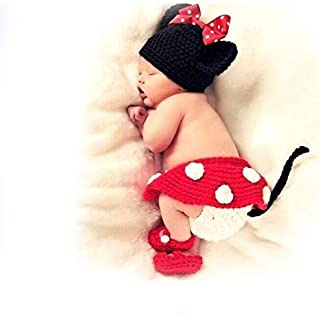Multi Color Costume For Newborn Girls