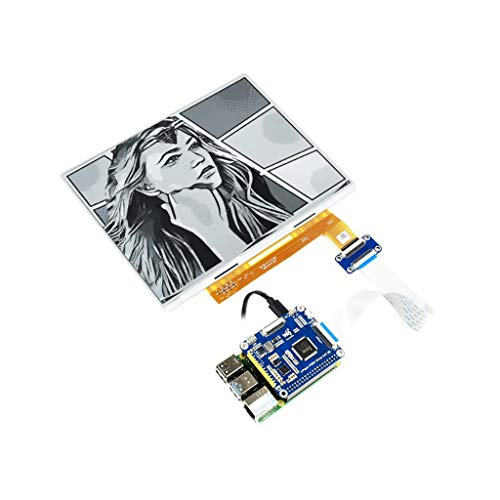 Coolwell Waveshare 10.3inch E-Paper E-Ink Display HAT for Raspberry Pi Series, 1872×1404 Pixels,2-16 Grey Scales, USB/SPI/I80 Interface