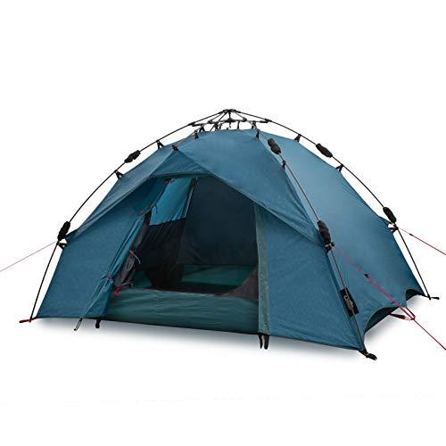 Qeedo Quick Ash 2 Tenda da Campeggio 2 posti Automatica (Quick Up System) - Blu