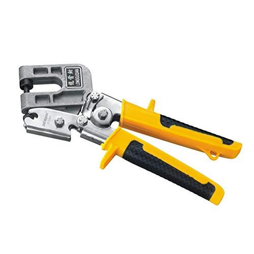 Tammy Yerkes Metallbolzen Nailless Crimper Ergonomischer Griff Keel Stud Crimper Pinzette Metal Punch Lock Trockenbau Einhandwerkzeug