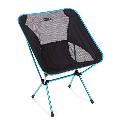 Helinox Chair One XL,Campingstuhl,Faltstuhl,Aluminium,leicht,stabil,faltbar,inkl Tragetasche,Black,one size