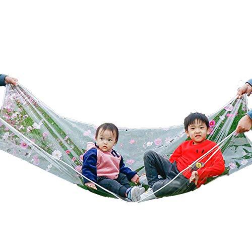 Plane wasserdichtes Hochleistungs-Campingzelt Winddicht mit Faltbarer Plastikfolie, anpassbar (Farbe: Klar, Größe: 2x4m)