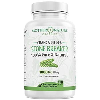 Stone Breaker Chanca Piedra - Natural Kidney Cleanse & Gallbladder- 120 Vegan Capsules - from Peruvian Amazon Rainforest - Detoxify Urinary Tract Flush Impurities - Non GMO No Fillers Gluten Free