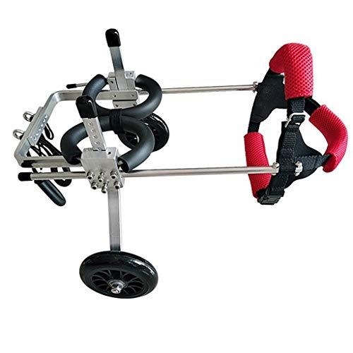 MCSHGPETY hond rolstoel huisdier brommer hond gehandicapte auto achterbeen hulpbeugel grootte kan vrij worden aangepast, M