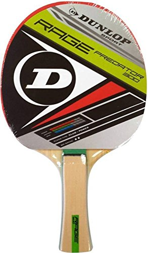 Dunlop Rage Predator Table Tennis Racket for Beginner