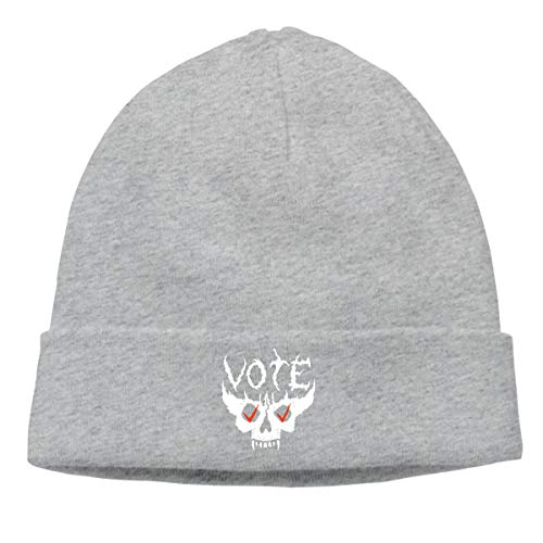 xy Voting Is Hard Core Fashion Unisex Autumn/Winter Knit Cap Hedging Cap Casual Cap Cartoon Funny Hedging Cap Beanie Caps Hats