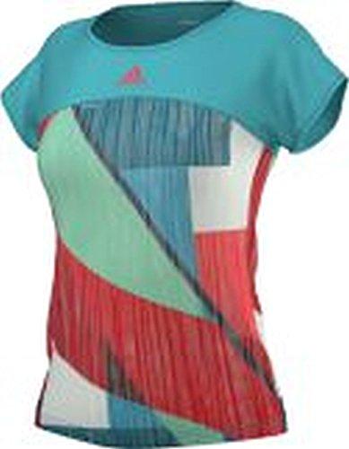 adidas Oberbekleidung Angelique Kerber adizero Tee, mehrfarbig, XS, AJ3208
