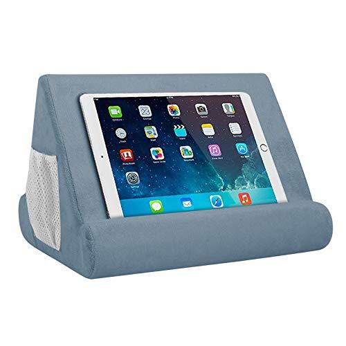 YiYu 1 soporte para tablet multiángulo, soporte de cojín para tableta, soporte para tableta, soporte mejorado para teléfonos, libros, revistas.